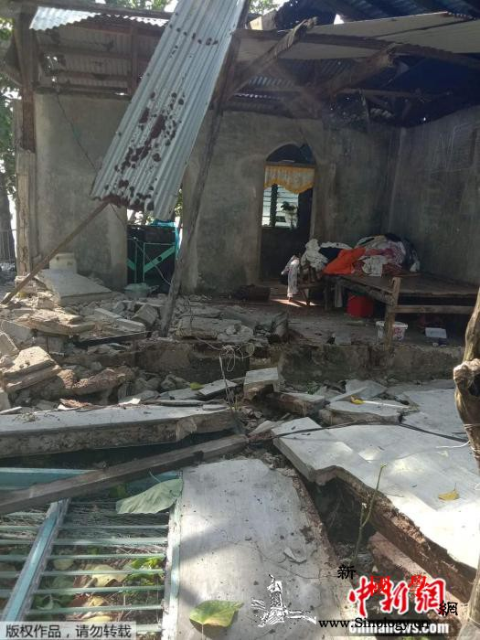 菲律宾6.6级地震致1死1伤房屋倒塌_菲律宾-震中-马斯-
