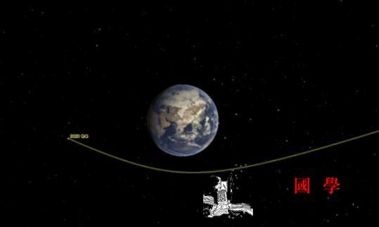 史上最近?小行星与地球擦肩而过仅距2_飞越-印度洋-官网-