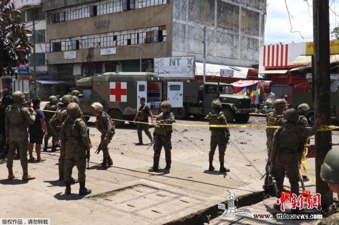 菲律宾苏禄连环爆炸致15人死陆军司令_军事管制-菲律宾-平民-