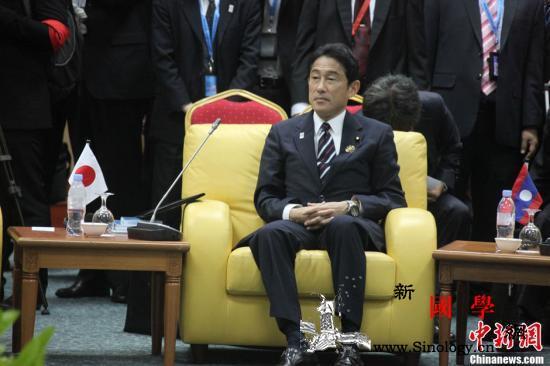 日媒:日本前外相岸田文雄明确表示将参_参选-日本-选举-