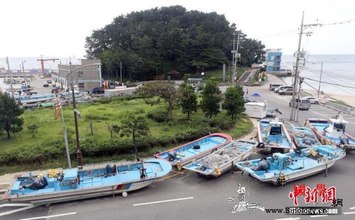 """台风""""美莎克""""继续北上将对韩国全境造_釜山-风级-强风-"""