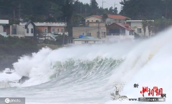 """台风""""美莎克""""过境韩国致1死800余_釜山-韩国-台风-"""