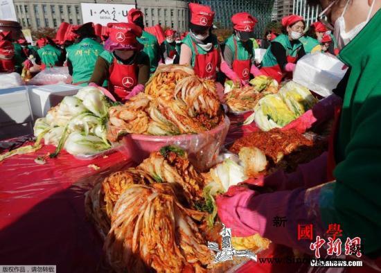 韩国一泡菜厂发生集体感染50吨泡菜将_韩国-泡菜-感染-