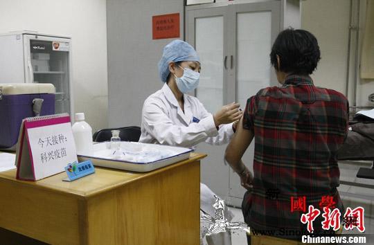 多地流感疫苗开打疫情之下会出现一针难_接种-疫情-疫苗-
