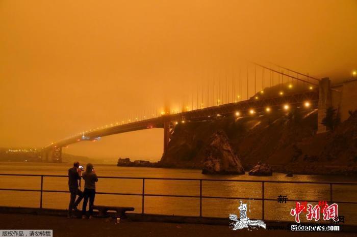 黑烟遮天、家园被毁:美国火场如战场特_俄勒冈州-华盛顿州-旧金山湾-