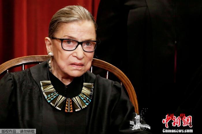 """美国""""网红""""大法官离世她把一生活成_最高法院-美国-伯格-"""