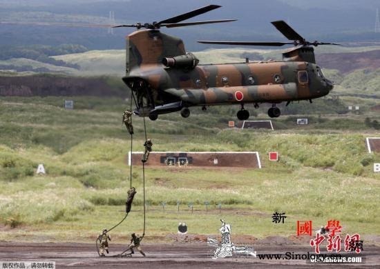 5.4万亿日元:日本2021防卫预算_机降-日本-共同社-