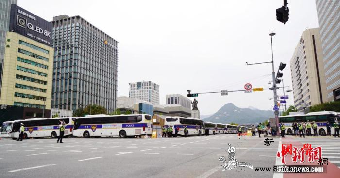 韩国驻京畿道部队发生集体感染_光化-韩国-疫情-