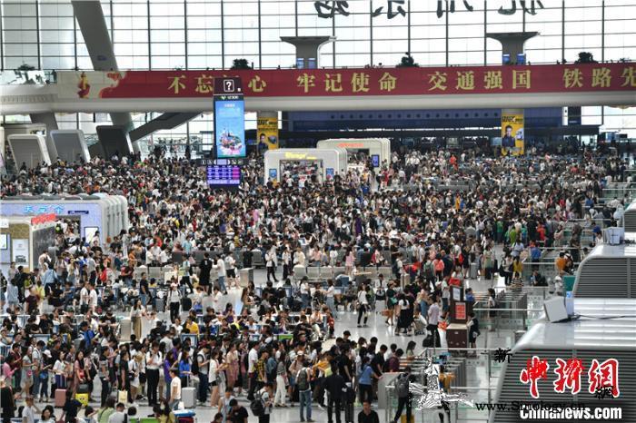 杭州东站9天发客近200万人次居长三_东站-客流-杭州-