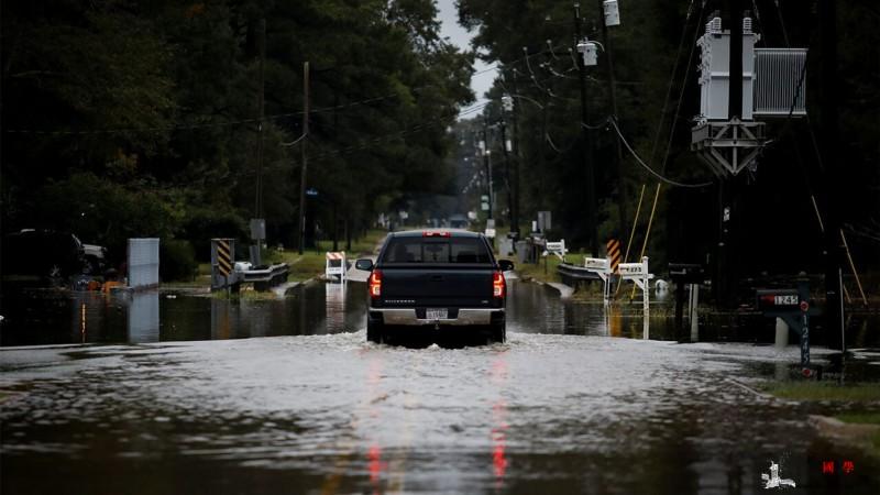 """飓风""""德尔塔""""已离开美国路易斯安那州_路易斯安那州-美国-飓风-"""