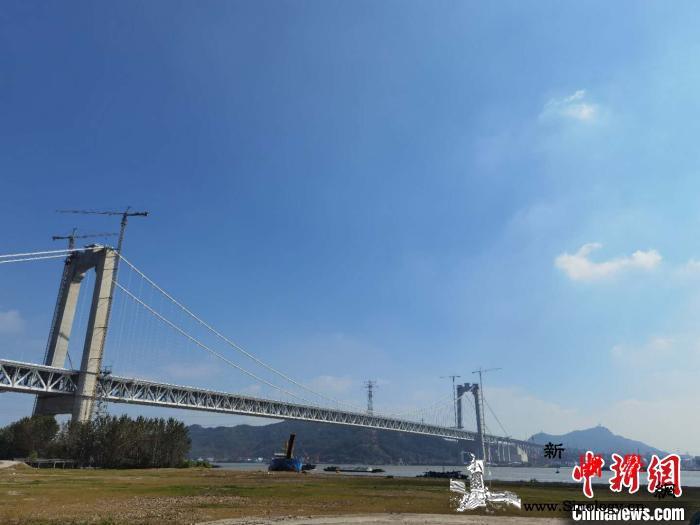 五峰山长江大桥通车倒计时系世界首座高_长江大桥-悬索桥-公路桥-