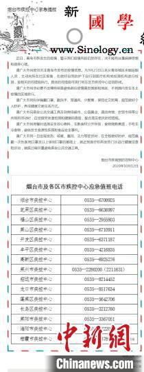 烟台疾控中心:9月23日以来从青岛城_烟台市-报备-青岛-