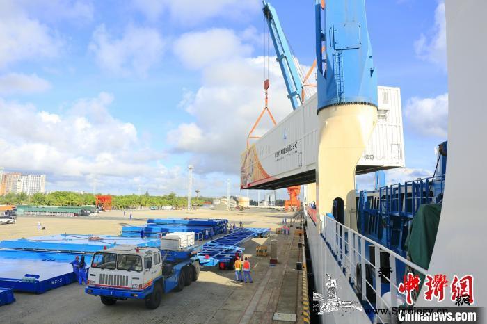 又一发长征五号火箭运至海南远望船队顺_长征-运输船-船队-