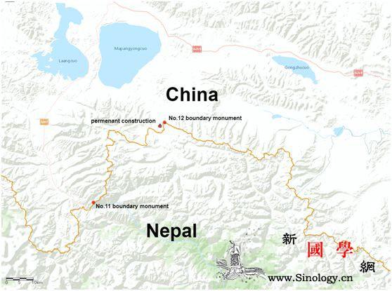 中国侵占尼泊尔领土?背后的真相是这样_界桩-普兰县-尼泊尔-