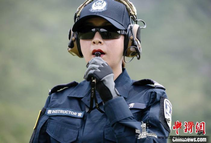 广西出入境边防检查总站唯一警务实战女_警务-广西-边防-