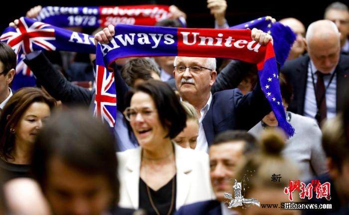 英国继续与欧盟展开贸易关系协议谈判_约翰逊-罗斯-英国-