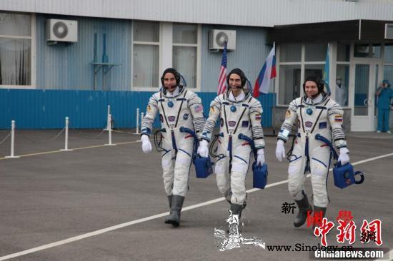 """俄""""联盟MS-16""""载人飞船返回地球_瓦格纳-哈萨克斯坦-宇航员-"""