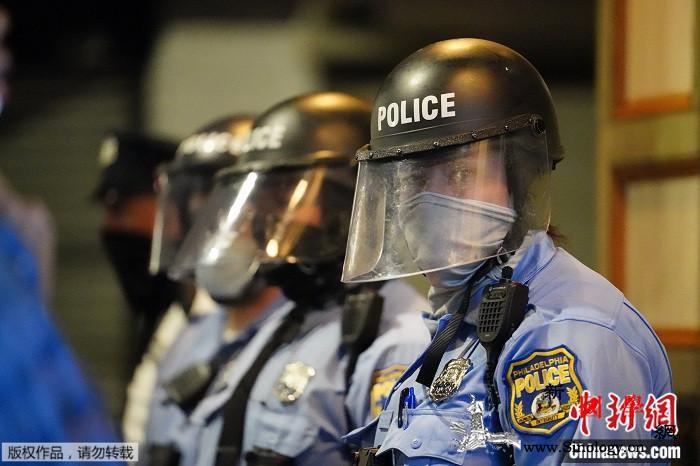 美费城反种族歧视抗议持续!特朗普欲派_宾夕法尼亚州-约翰逊-抗议-