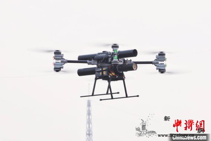 航天科工无人机灭火系统成功开展海拔4_无人机-海拔-试验-
