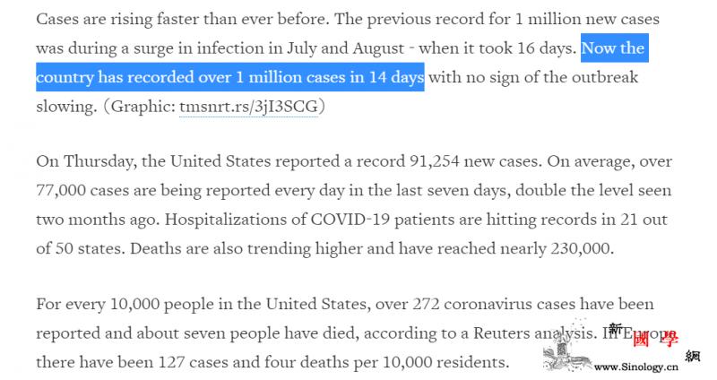 疫情下的美国:确诊病例破900万个人_俄亥俄州-单日-美国-