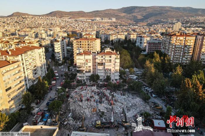 爱琴海强震后发生上千次余震已致土耳其_爱琴海-土耳其-毁损-