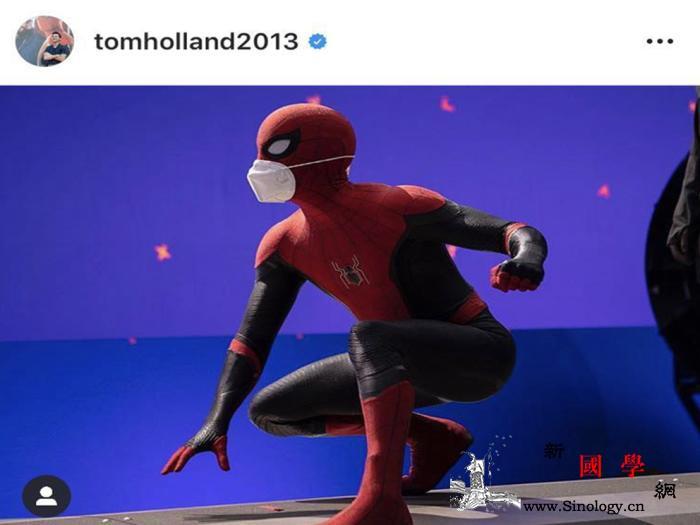 """超级英雄也不例外!""""蜘蛛侠""""扮演者吁_汤姆-扮演者-口罩-"""