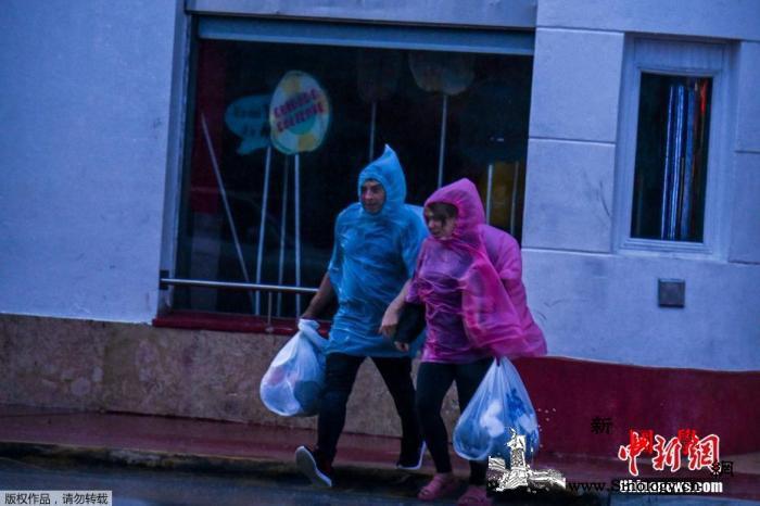 """热带风暴""""埃塔""""在美佛州登陆带来强降_佛罗里达州-迈阿密-飓风-"""