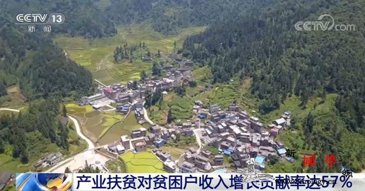 农业农村部:产业扶贫对贫困户收入增长_贫困户-林下-迪庆-