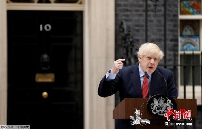 """英国首相媒体发文吁消除对""""分级管控系_约翰逊-英国-疫情-"""