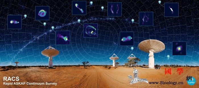 """星球也""""普查""""?这张""""宇宙地图""""有3_射电望远镜-澳大利亚-星系-"""