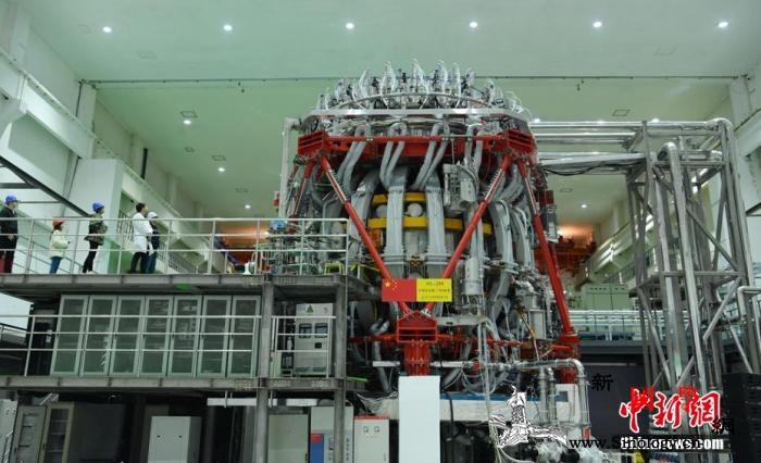 """中国新一代""""人造太阳""""建成并实现首次_环流-等离子体-热核-"""