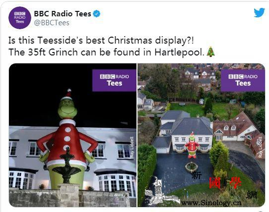 英男子为女儿买圣诞玩偶到货后才发现…_英国-圣诞-玩偶-
