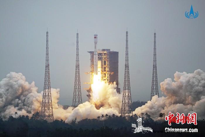 """新提升、新技术、新跨越:""""长八""""首飞_文昌-长征-运载火箭-"""