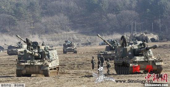 韩媒:韩美军方就2021年联合军演方_司令部-韩国-军演-