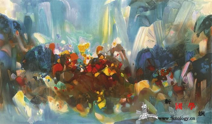 法籍华裔艺术家朱德群作品布鲁塞尔上线_法籍-巴黎-布鲁塞尔-上海-