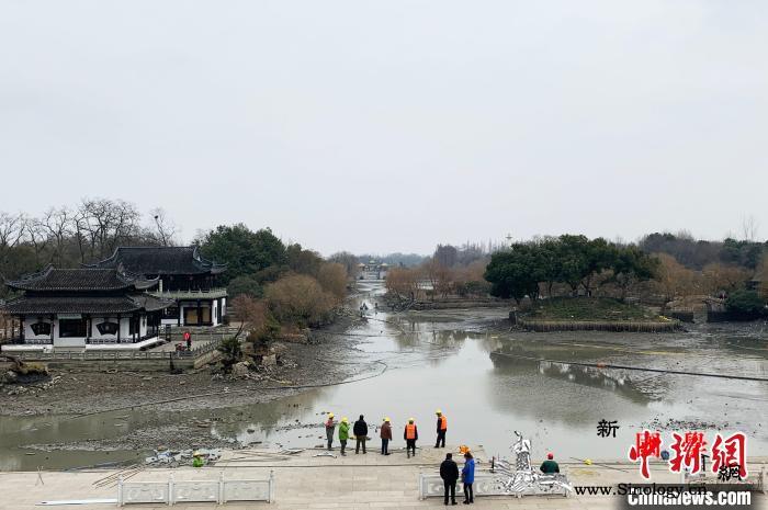 扬州瘦西湖水环境治理32万平方米水域_秀水-扬州-湖底-