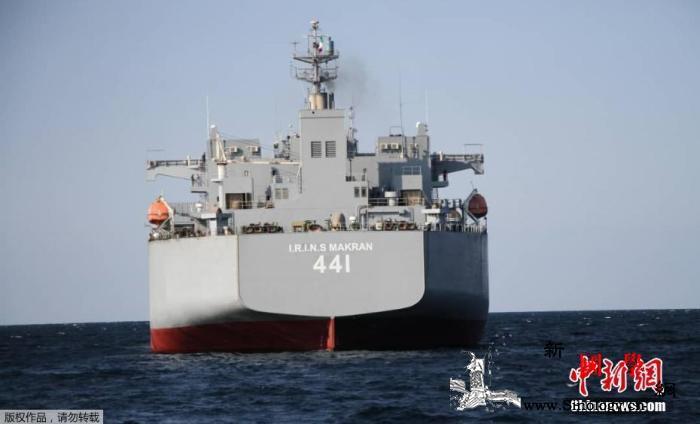 为应对敌方威胁做准备伊朗军演期间试射_阿曼-印度洋-伊朗-
