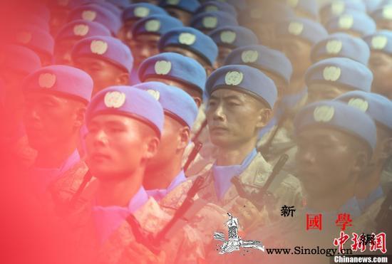 中国20年来选派维和警察2600余人_联合国-选派-维和-