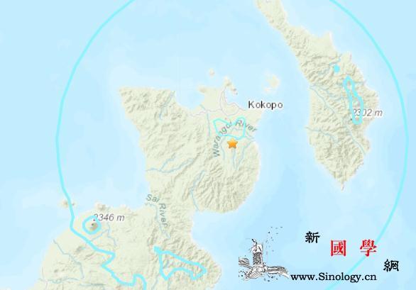 巴布亚新几内亚东部发生5.5级地震震_巴布亚新几内亚-震源-美国-