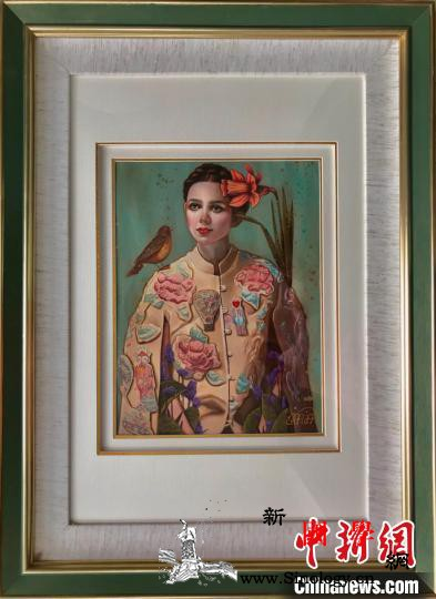 伊朗画家合肥举行画展:西方画中的东方_伊朗-绘画-女性-合肥-