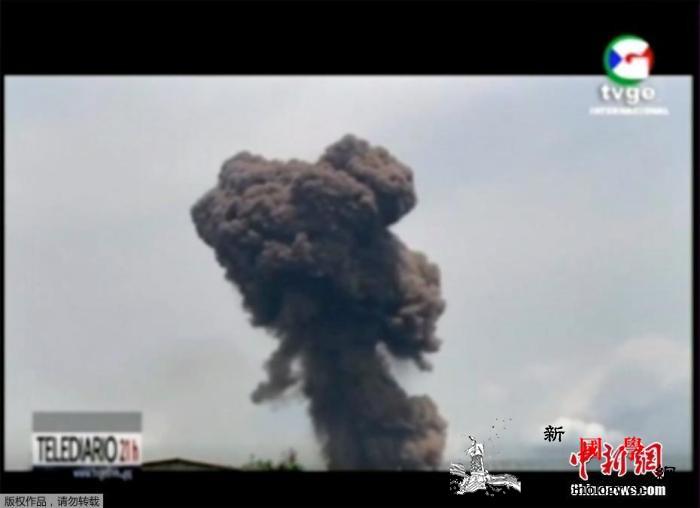 赤道几内亚爆炸事故死亡人数升至30人_赤道几内亚-蘑菇云-轻伤-