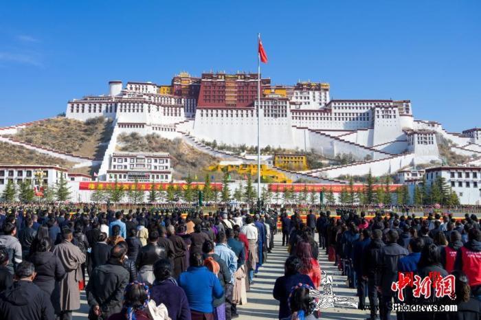 西藏纪念百万农奴解放凸显制度自信_民主改革-农奴-西藏-