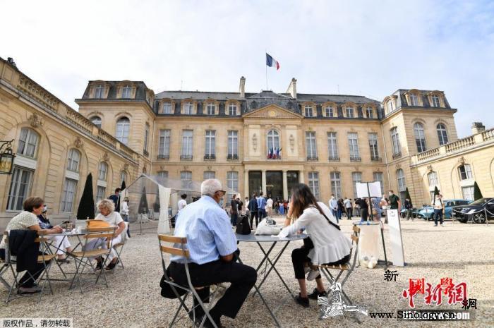 外媒:男子拿着燃烧瓶欲闯法总统马克龙_法国-欧洲-燃烧-
