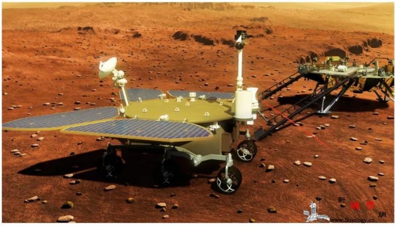 天问一号:火星开门吧我到啦!_火星-载荷-着陆-