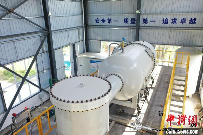 中国首台电子束辐照处理医疗废水示范装_电子束-辐照-核技术-