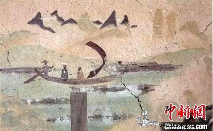 敦煌古代端午习俗雅趣十足:操舟弄潮最_敦煌-团扇-莫高窟-端午-