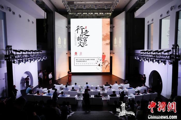 故宫《石渠宝笈》绘画数字科技展将从西_故宫-石渠-南唐-江山-