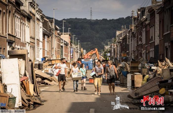 比利时已有37人死于严重洪涝灾害仍有_已有-洪灾-德国-