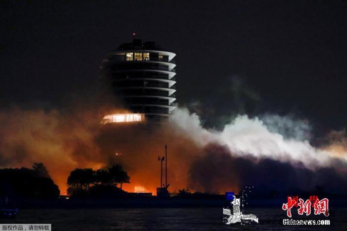 美佛州倒塌大楼废墟清理工作结束工程师_佛罗里达州-迈阿密-美国-