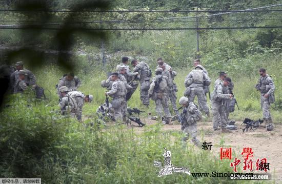 韩美联合军演今结束战时作战指挥权移交_战时-移交-司令部-